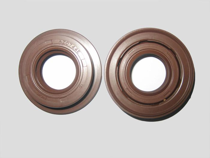 Sealing ring for piston of oil cylinder of wr-ush agricultural machinery